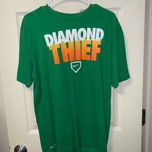 """Nike Baseball """"Diamond Thief"""" T-Shirt"""